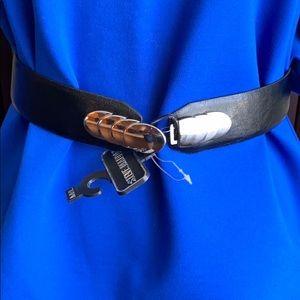 Steve Madden leather Belt M/L new Tags